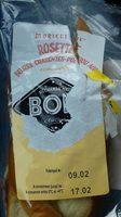 Moricette rosette beurre Charente-Poitou AOP cornichons - Produit - fr