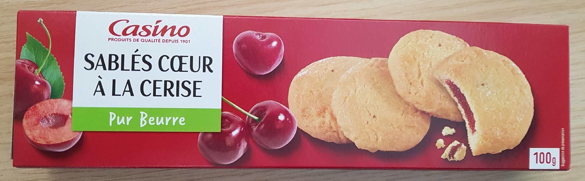 Sablés coeur saveur cerise - Product