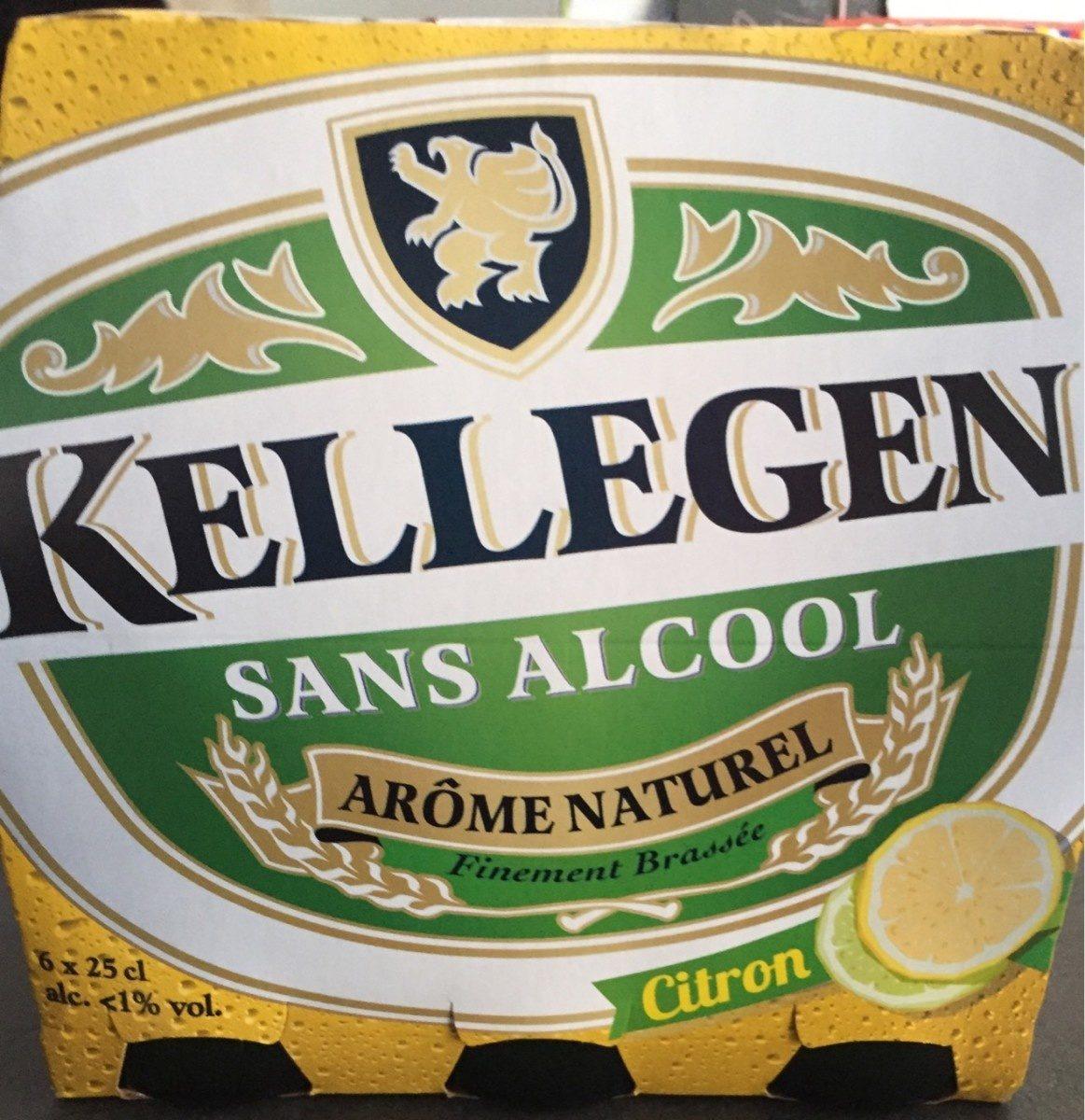 Bière Kellegen sans alcool aromatisée citron - 6x25cl - Product - fr