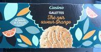 Galettes Thé noir saveur Orange - Product