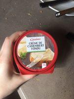 Crème de camembert fondu - Produit - fr