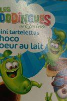 Mini tartelettes choco coeur au lait - Product - fr