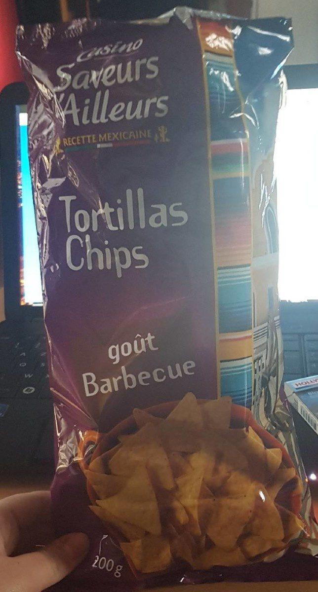 Tortillas chips barbecue - Produit - fr