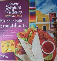 Kit crunchy fajitas - Product