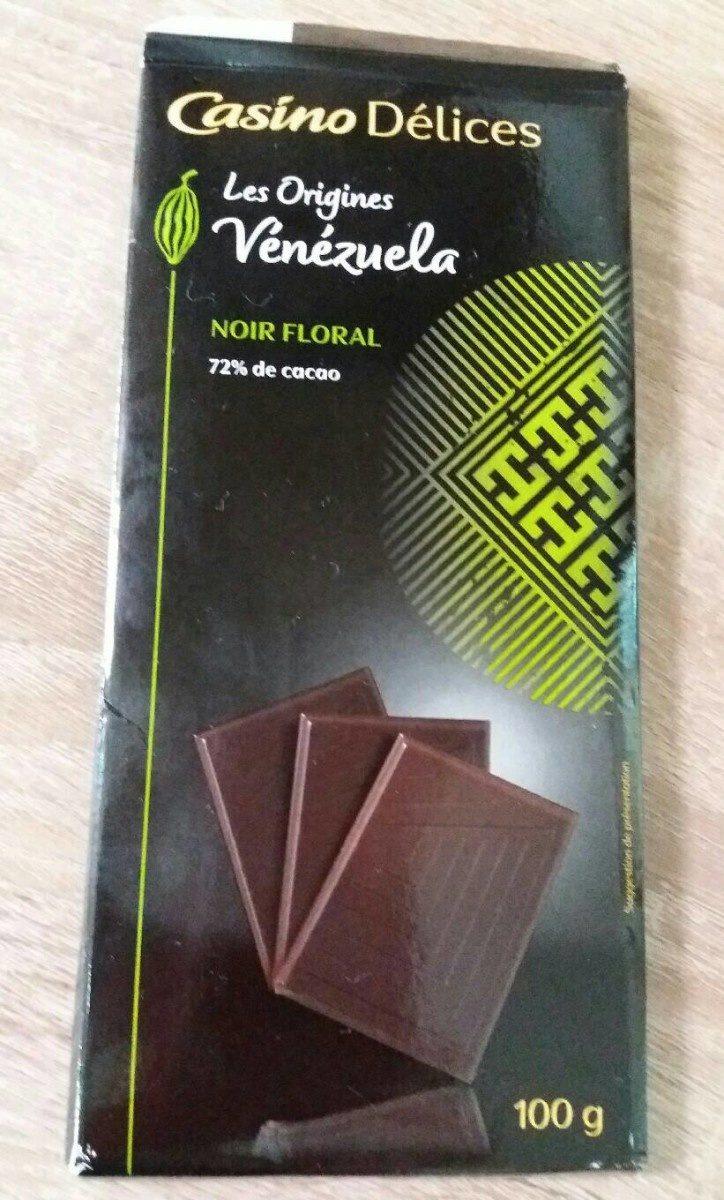 Chocolat noir 72% Vénézuela - Product