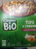Tofu à l'indienne, riz basmati et lentilles - Product
