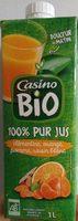 100% Pur Jus Clémentine Orange Pomme Raisin blanc - Product