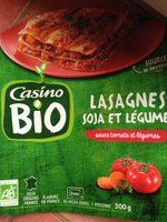 Lasagnes soja et légumes sauce tomate et légumes - Product - fr