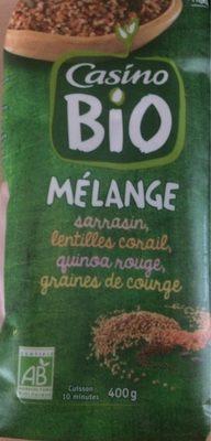 Mélange sarrasin lentille quinoa graine de courge - Product - fr