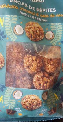 Encas de pépites céréales, chocolat et noix de coco - Product