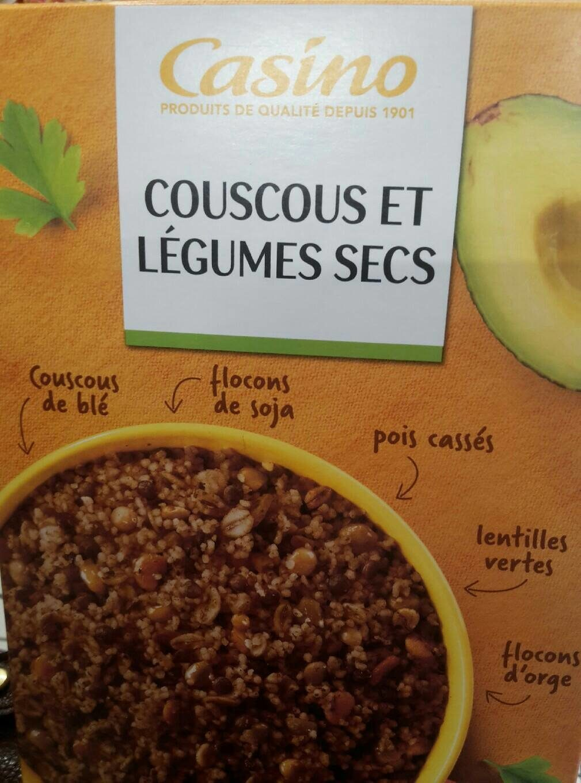 Couscous et Légumes Secs - Produit