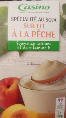 Spécialité au soja sur lit à la pêche - Prodotto - fr