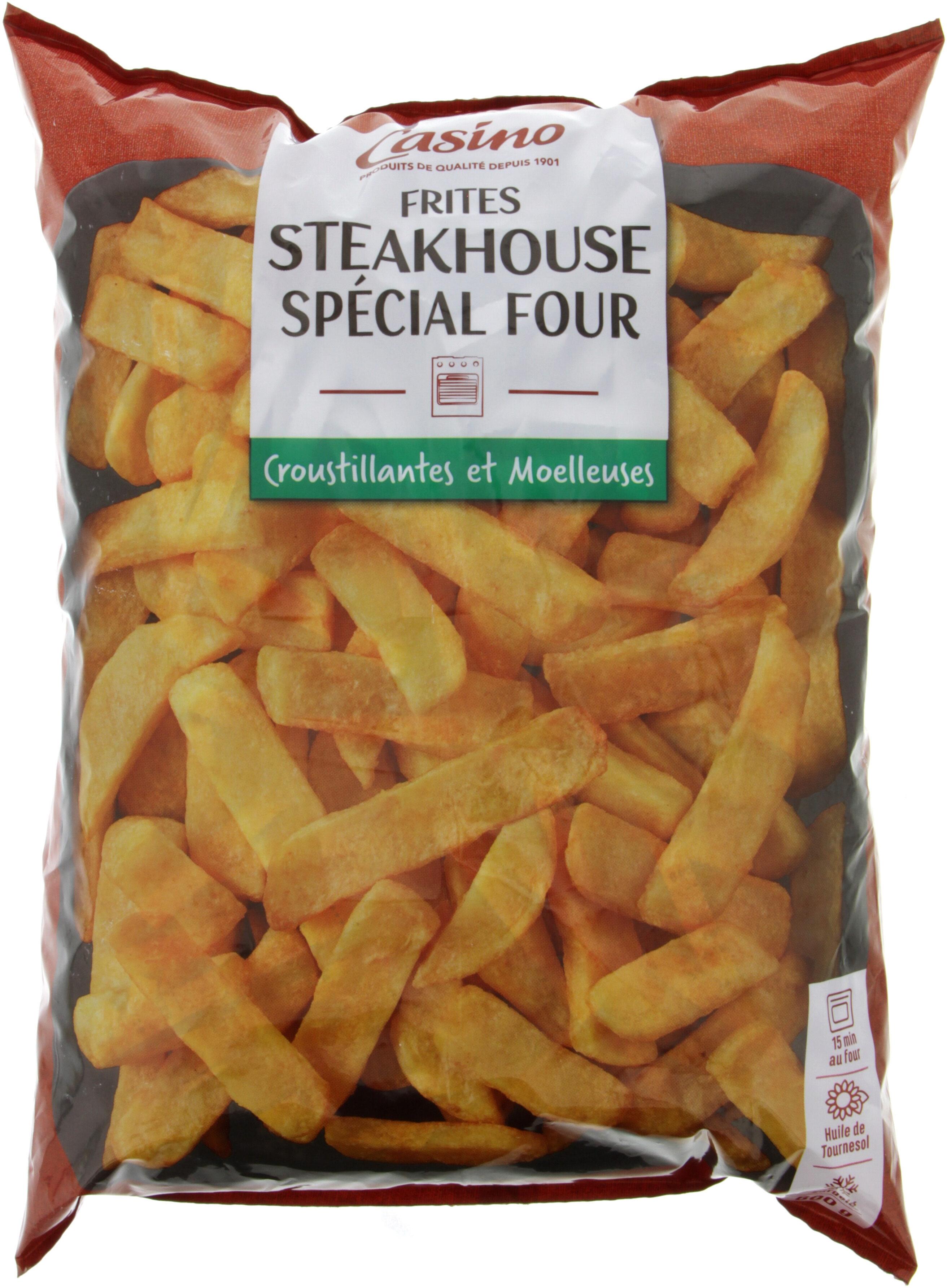 Frites steackhouse spécial four - Produit