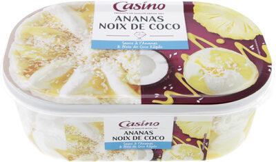Ananas Noix de coco - sauce à l'ananas & noix de coco râpée - Product - fr