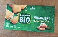 Financiers bio - Produit
