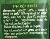 Mix Amandes grillées sauce soja Tamari - Ingredients