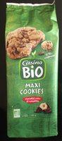 Maxi Cookies chocolat noir et noisettes BIO - Product - fr