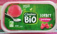 Sorbet framboise bio - Produit