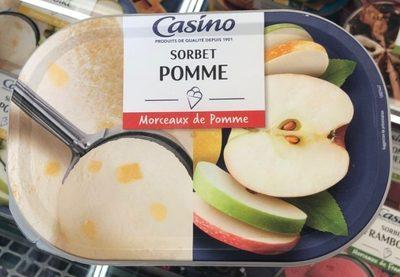 Sorbet pomme avec morceaux de pomme - Produit