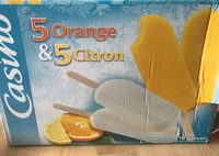 5 orange & 5 citron - Product
