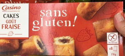 Cake goût Fraise sans gluten - Produit