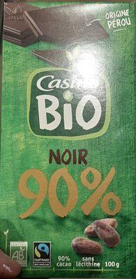 Chocolat noir 90% bio origine Pérou - Produit - fr