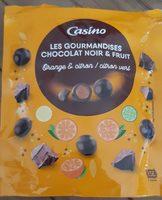 Les gourmandises chocolat noir et fruit - Orange et citron/citron vert - Product