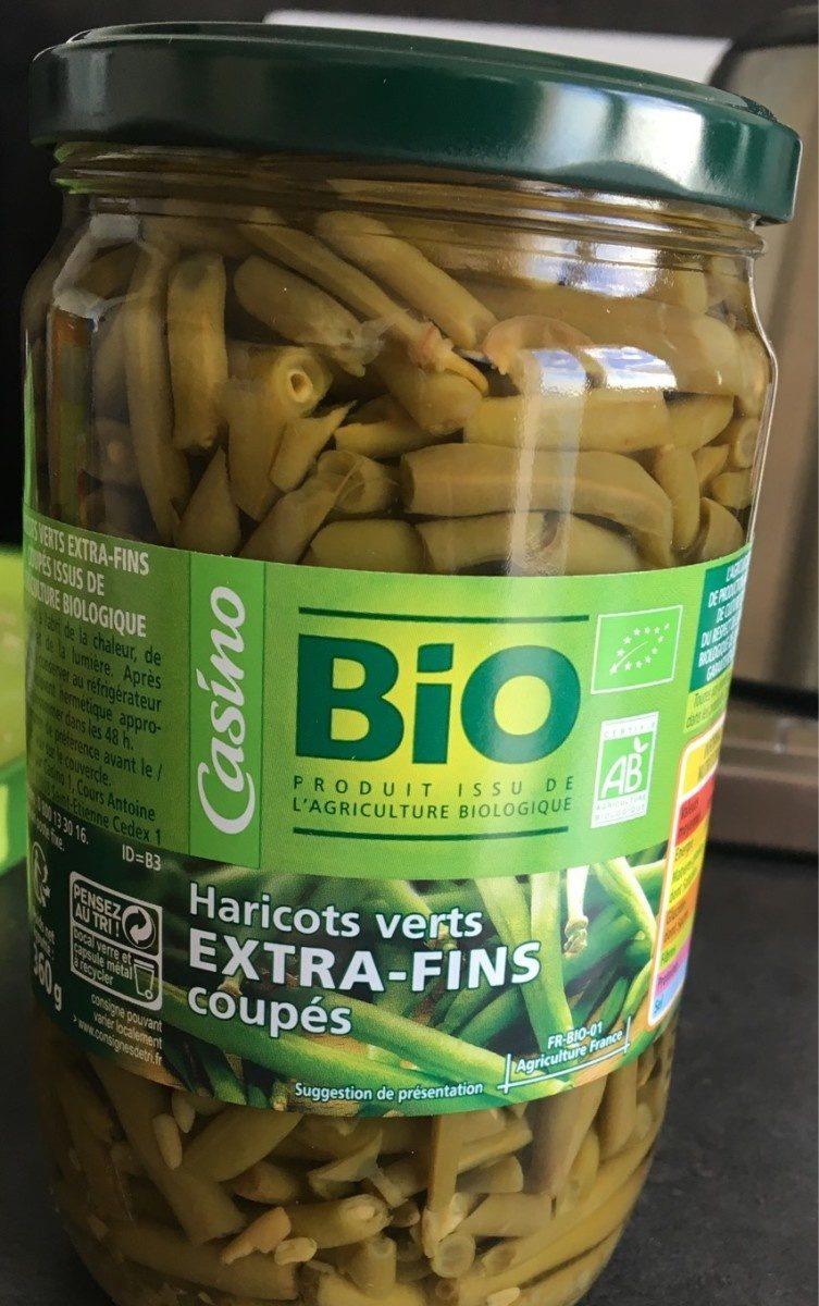 Haricots verts extra-fins coupés bio - Produit