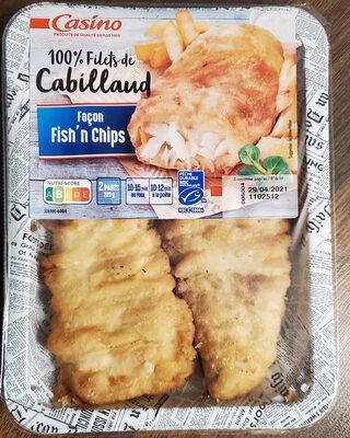 Filets de Cabillaud façon Fish'n Chips - Product - fr
