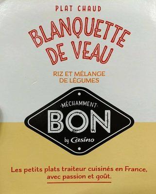 Blanquette de veau riz et mélange de légumes - Produkt - fr