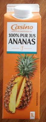 Pur jus d'ananas - Product - fr