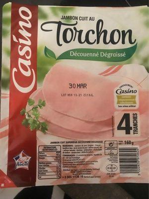 Jambon cuit au torchon DD 4 tranches VPF - Produit