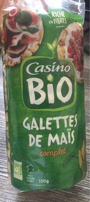 Galettes de maïs complet Bio - Product