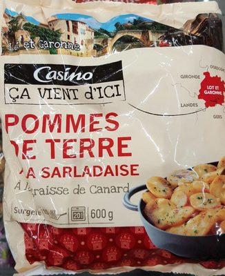 Pommes de terre à la sarladaise - à la graisse de canard - Product