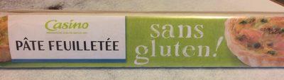 Pâte feuilletée sans gluten - Produit
