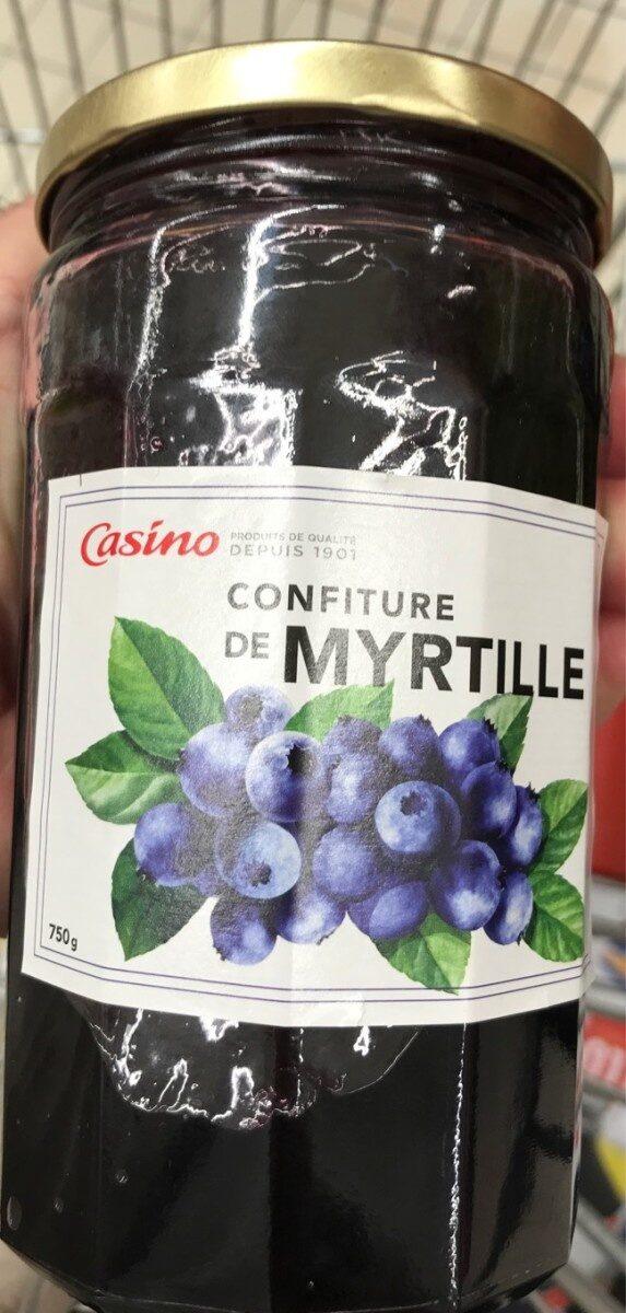 Confiture de Myrtille - Prodotto - fr