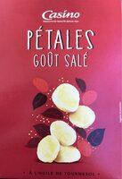 Pétales gout Salé - A l'huile de tournesol - Produit - fr