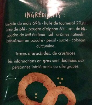Rings goût Oignon - Ingredients