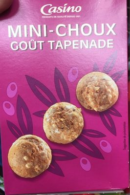 Mini-choux goût Tapenade - Produit - fr