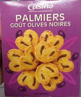 Palmiers goût Olives noires - Product - fr