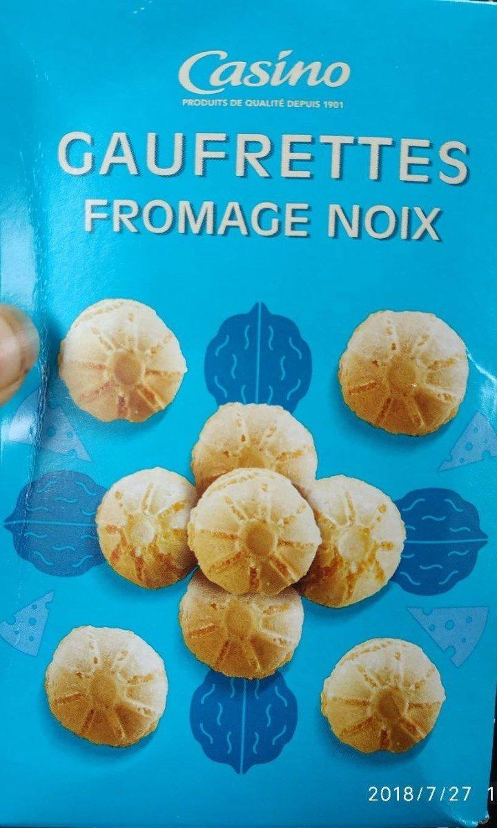 Gaufrettes fromage noix - Produit