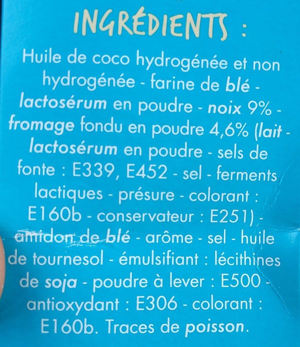 Gaufrettes fromage noix - Ingrédients
