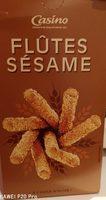 Flûtes sésame - A l'huile d'olive - Produit - fr