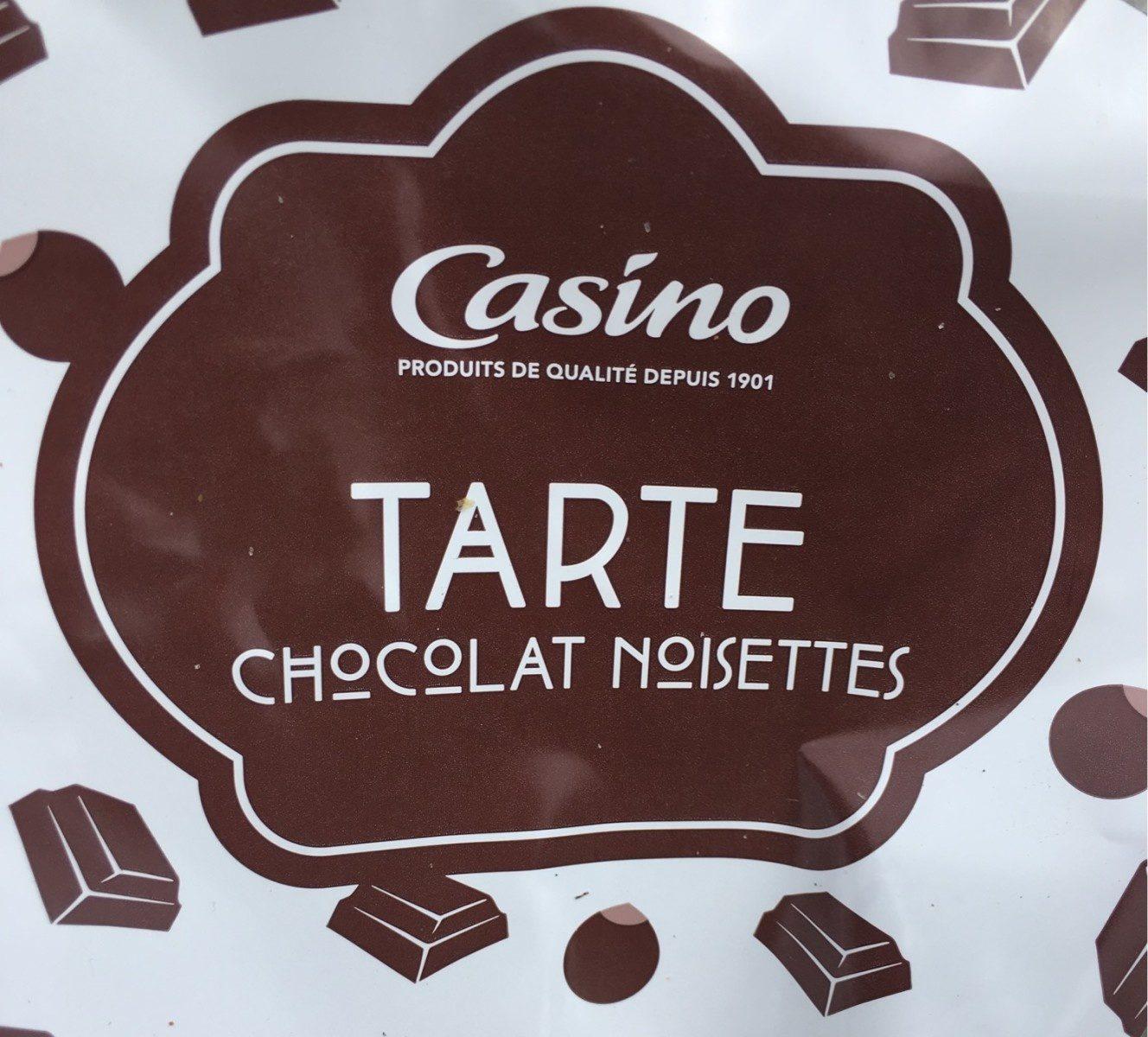 Tarte noisettes chocolat - Product - fr