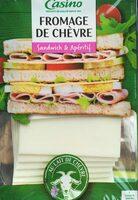Fromage de chèvre Sandwich et Apéritif - Product - fr