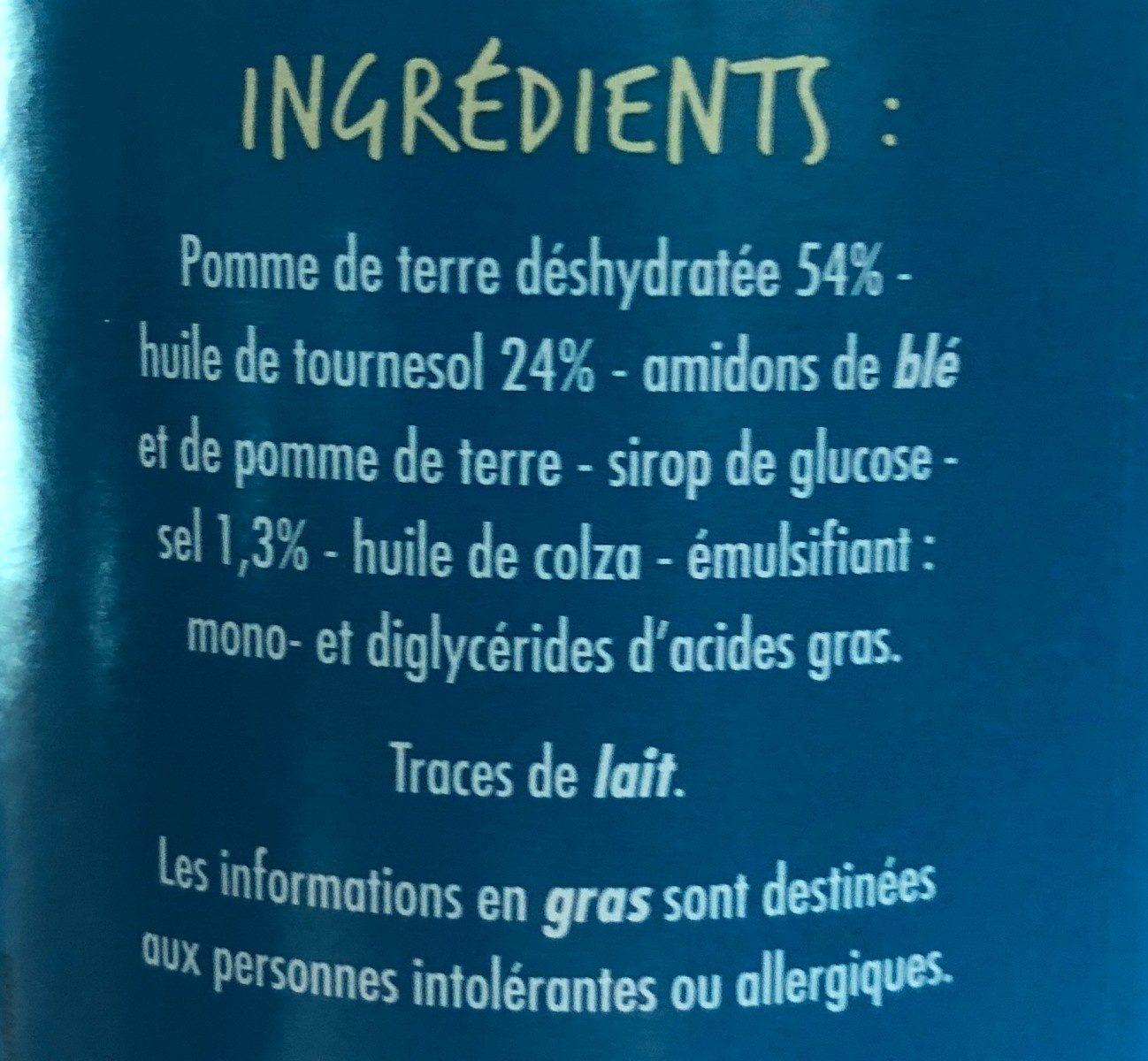 Tuiles Goût Salé - Ingredients - fr