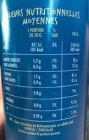 Tuiles Goût Salé - Nutrition facts - fr