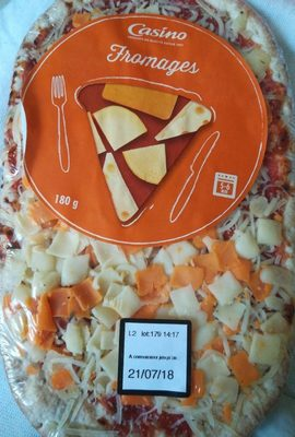 Pizza fromages - Product