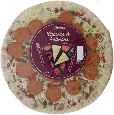 Pizza Chorizo et poivrons - Product