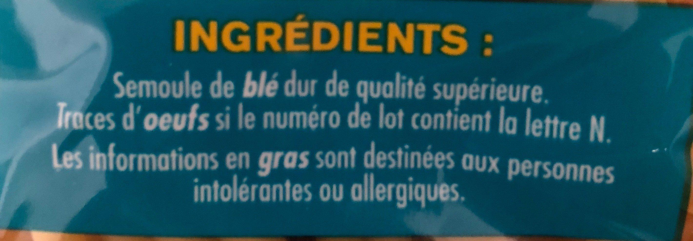 Macaroni - Ingredients - fr